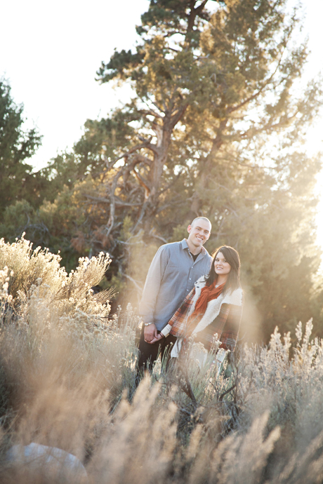 Engagement Pictures in Big Bear