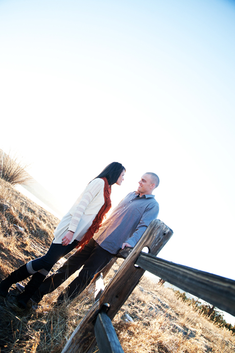 Big Bear Engagement Phottography