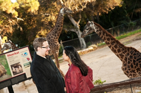 Engagement Pictures Santa Barbara Zoo