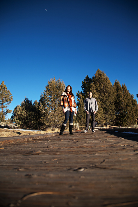 Engagement Session in Big Bear
