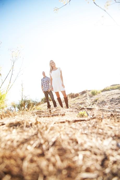 Engagement Pictures in Laguna Beach