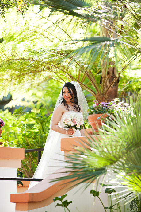 Bride to be at Rancho Las Lomas Wedding