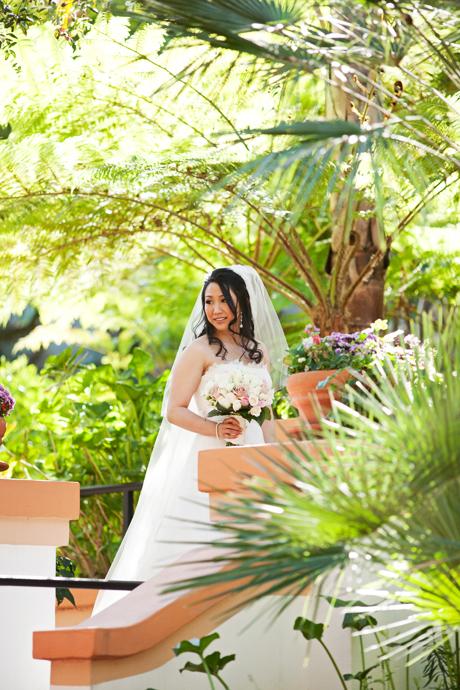 Bride to be at Rancho Las Lomas Wedding