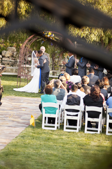 Wedding Ceremony at Laeke Oak Meadows