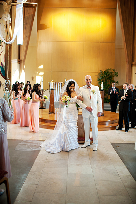 Maximilian Kolbe Catholic Church Wedding, Ventura Wedding Photographer
