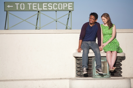 Griffith Observatory Engagement Pictures, Downtown Los Angeles Engagement Pictures, Griffith Observatory Engagement Photography, Urban Engagement Pictures