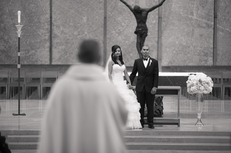 Our Lady of the Angels Wedding Ceremony