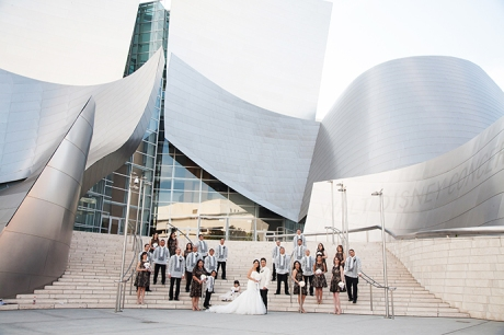 Disney Concert Hall Wedding Pictures, Disney Concert Hall Wedding Photos, Disney Concert Hall Wedding Photography