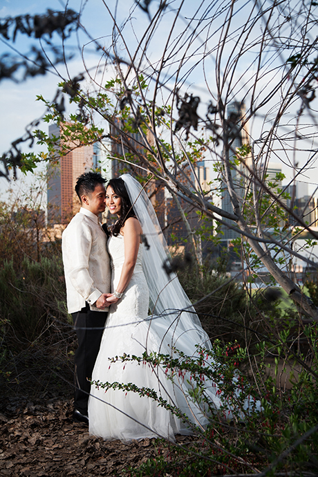 Vista Hermosa Park Wedding Photos