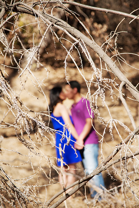 Griffith Park Engagement Photos, Griffith Park Engagement Pictures, Griffith Park Engagement Session, Film Photography