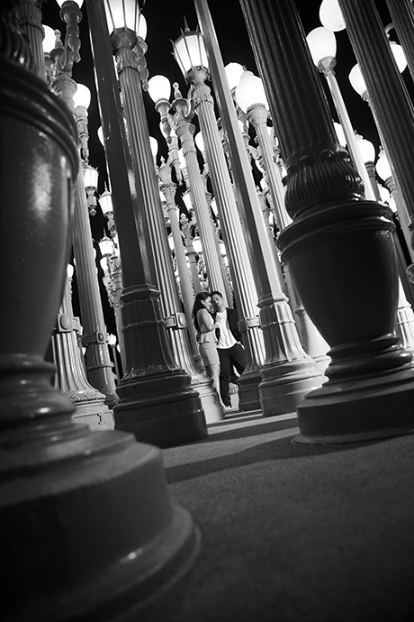 LACMA Engagement Photos,  LACMA Engagement Session, LACMA Engagement Pictures