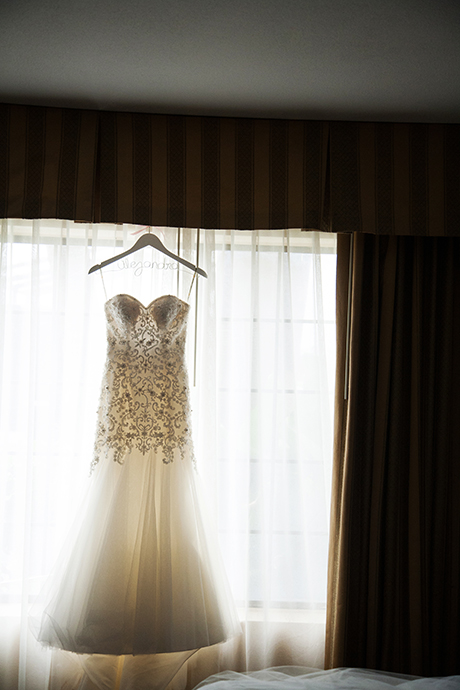 Wedding Dress at Buena Park Wedding