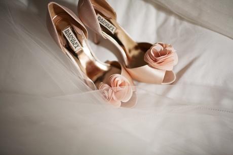Los Coyotes Country Club Wedding / Bride's Shoes