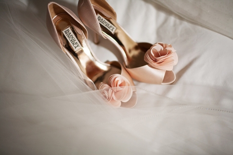 Los Coyotes Country Club Wedding / Bride's Shoes