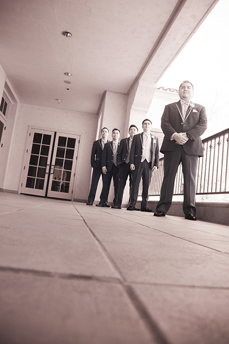 Infrared Wedding Photography at Lost Coyotes Country Club
