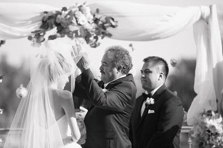 Los Coyotes Country Club Wedding Ceremony