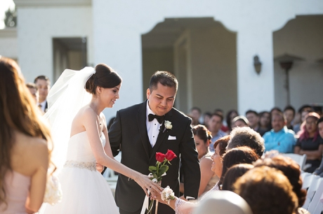 Los Coyotes Country Club Wedding Ceremony