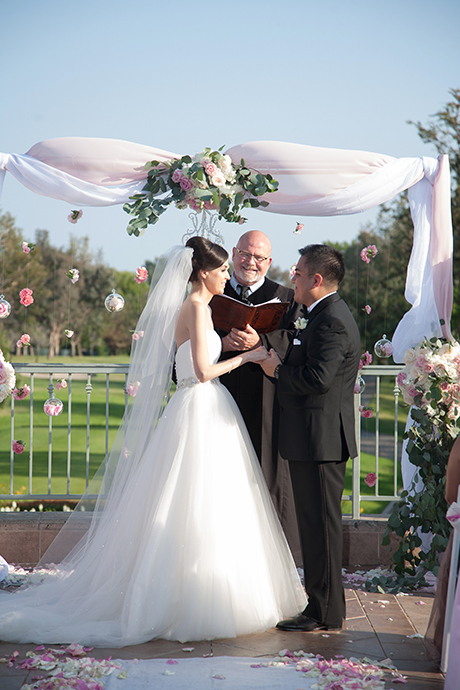 Los Coyotes Golf Course Wedding Ceremony