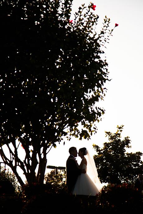 Los Coyotes Golf Course Wedding - Bride and Groom