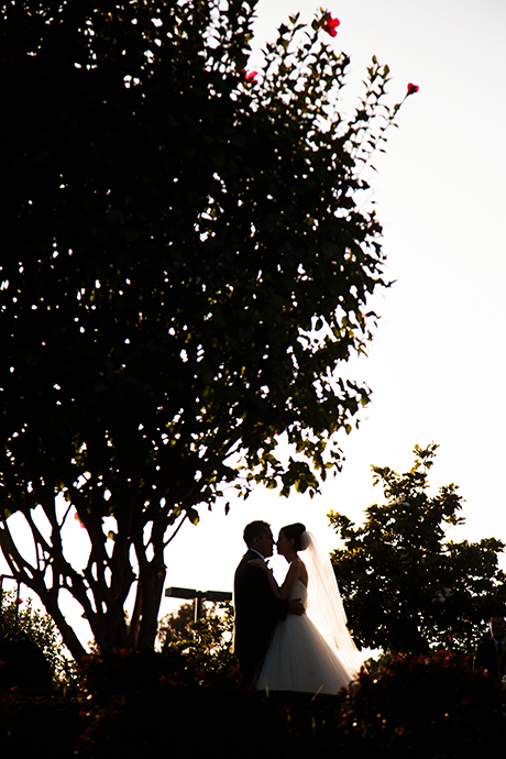 Los Coyotes Golf Course Wedding - Bride and Groom