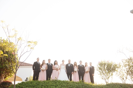Los Coyotes Golf Course Wedding - Bridal Party
