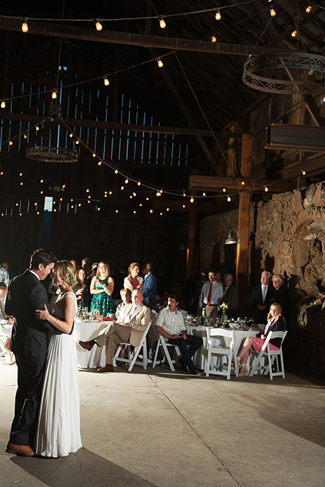 Santa Margarita Ranch Wedding Reception