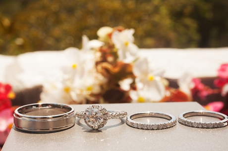 Dove Canyon Country Club Wedding - Wedding Rings