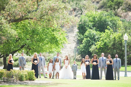 Dove Canyon Country Club Wedding - Bridal Party