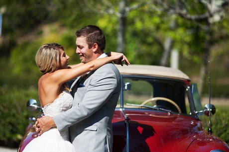 Dove Canyon Country Club Wedding Pictures - Bride and Groom