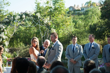 Dove Canyon Country Club Wedding Ceremony