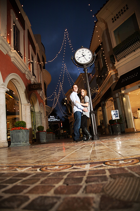 Engagement Pictures at the Grove Los Angeles