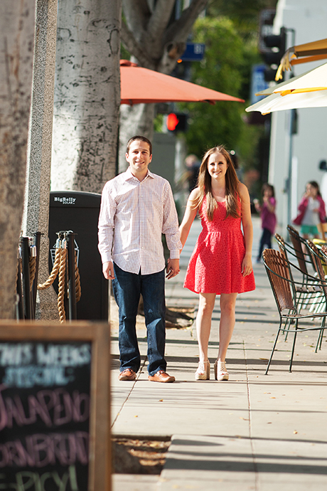 Larchmont Village Engagement Session