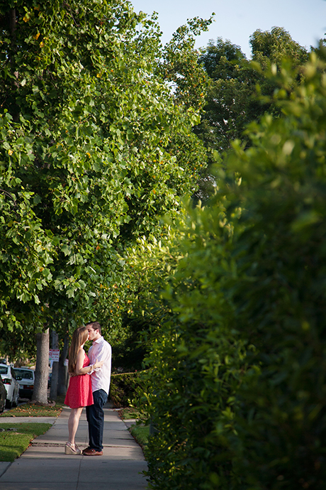 Larchmont Village Engagement Pictures