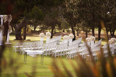 Los Verdes Country Club Wedding Ceremony