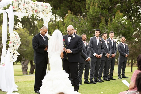 Los Verdes Golf Course Wedding Ceremony