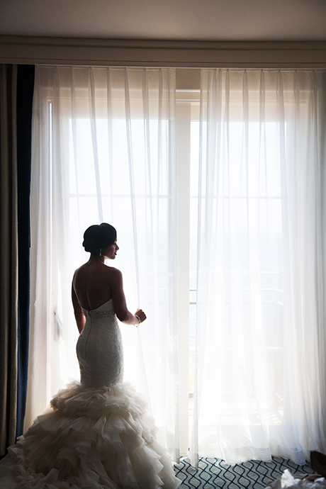 Bride at Terranea Resort Wedding