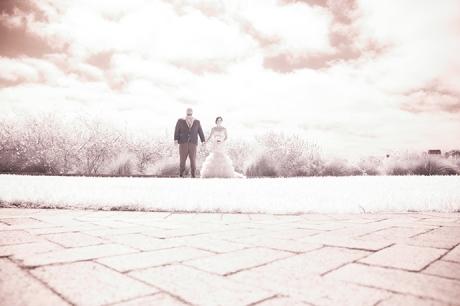 Terranea Resort Wedding / Bride and Groom