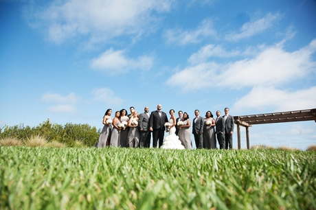 Terranea Resort Wedding - Bridal Party