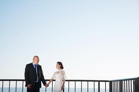 Laguna Beach Wedding - Bride and Groom