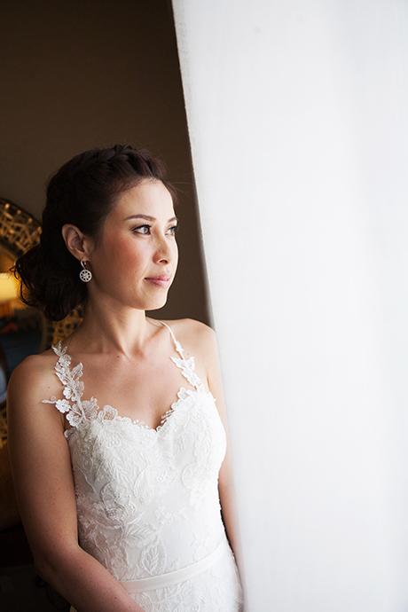 Bride at Newport Beach Marriott Wedding