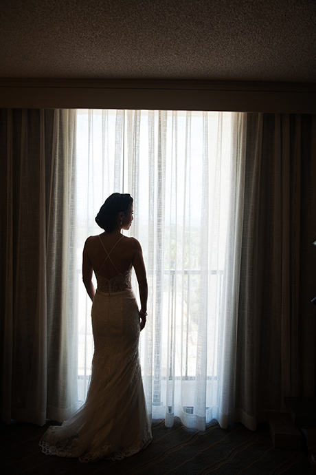 Bride at the Newport Beach Marriott