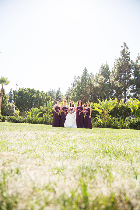 Hotel Irvine Wedding - Bride's Maids