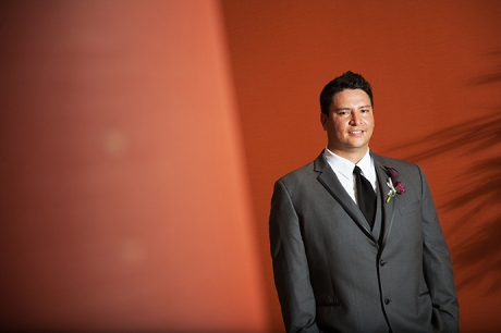 Hotel Irvine Wedding - Groom