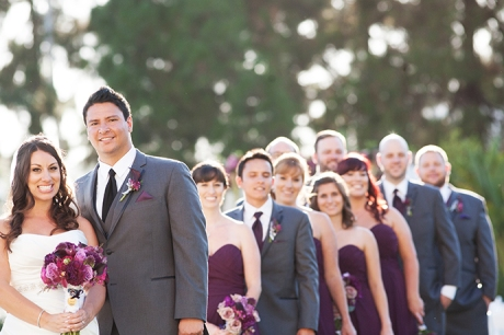 Hotel Irvine Wedding - Bridal Party