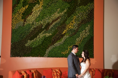 Hotel Irvine Wedding - Bride and Groom