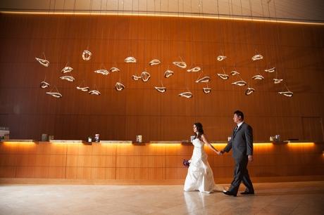 Hotel Irvine Wedding - Bride and Groom