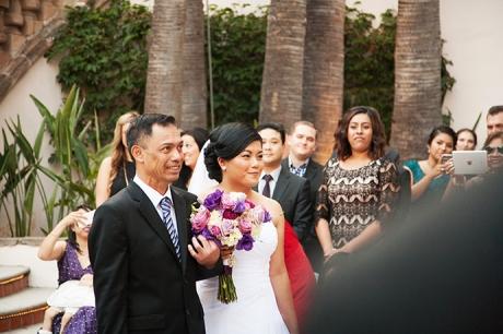 Wedding Ceremony at Turnip Rose