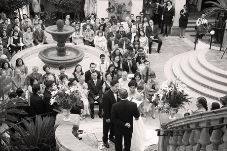 Turnip Rose Wedding Ceremony
