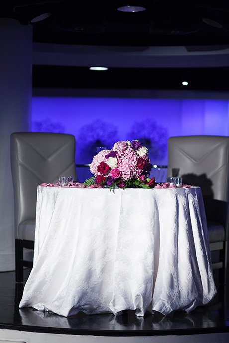 Turnip Rose Wedding Recption