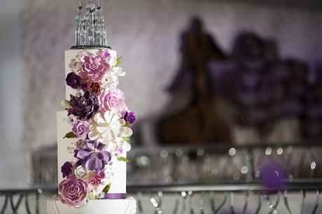 Wedding Cake at Turnip Rose Wedding Reception